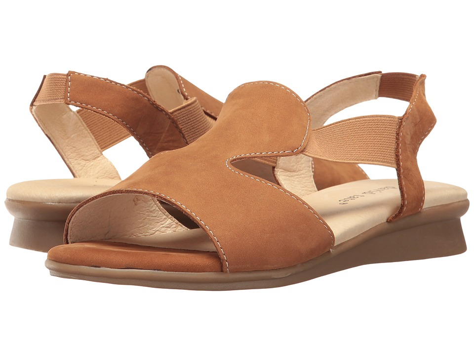 David Tate - Ash (Tan Nubuck) Women's Sandals