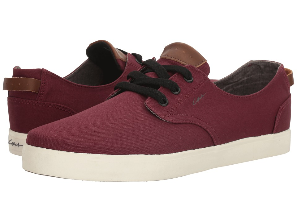 Circa - Harvey (Maroon/Gray) Men's Skate Shoes