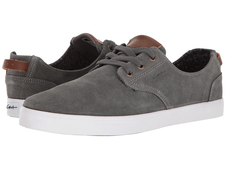 Circa - Harvey (Charcoal/White) Men's Skate Shoes