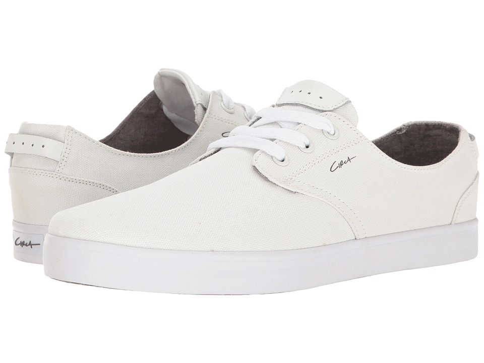 Circa - Harvey (White/Gray) Men's Skate Shoes