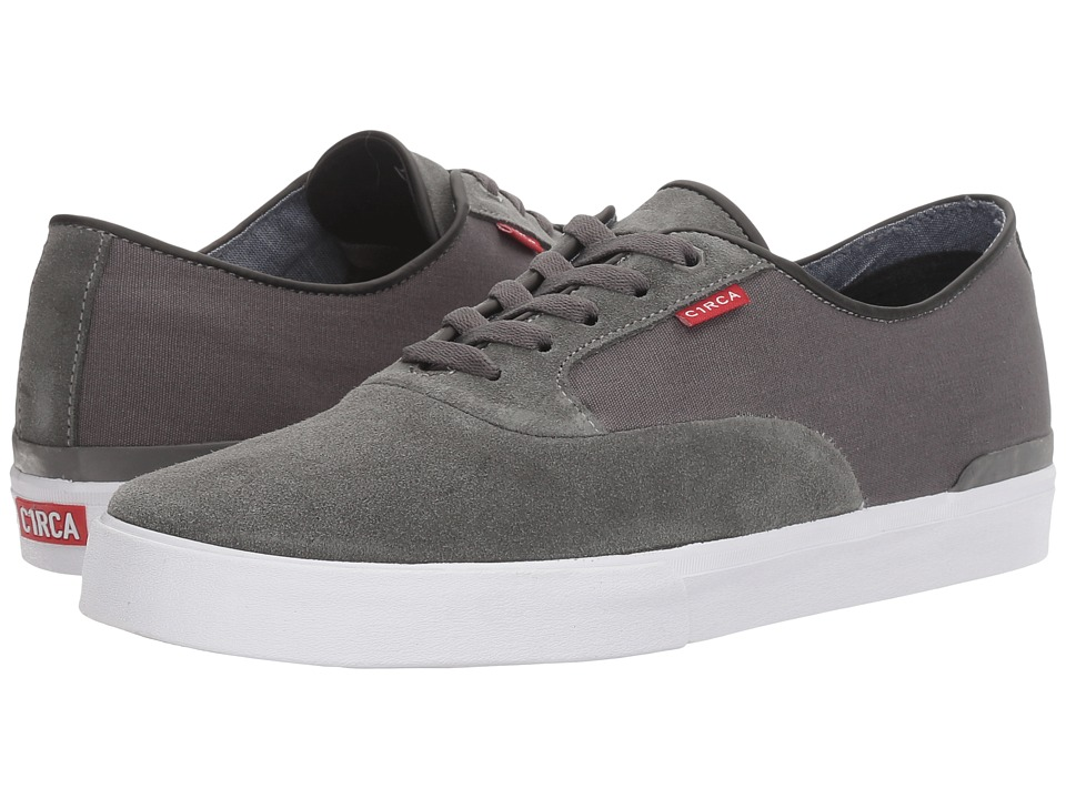 Circa - Kingsley (Charcoal/White) Men's Skate Shoes