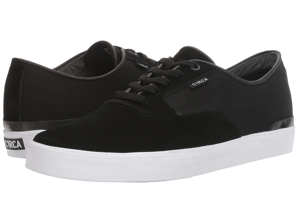 Circa - Kingsley (Black/White) Men's Skate Shoes
