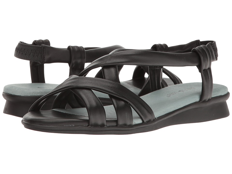 David Tate - Bay (Black Lamb) Women's Sandals