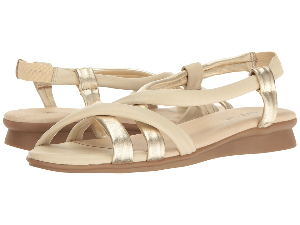 David Tate - Bay (Bone Lamb) Women's Sandals