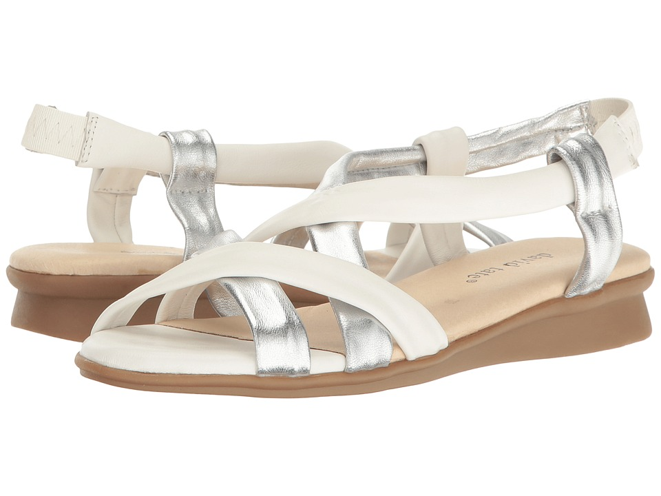 David Tate - Bay (White Lamb) Women's Sandals