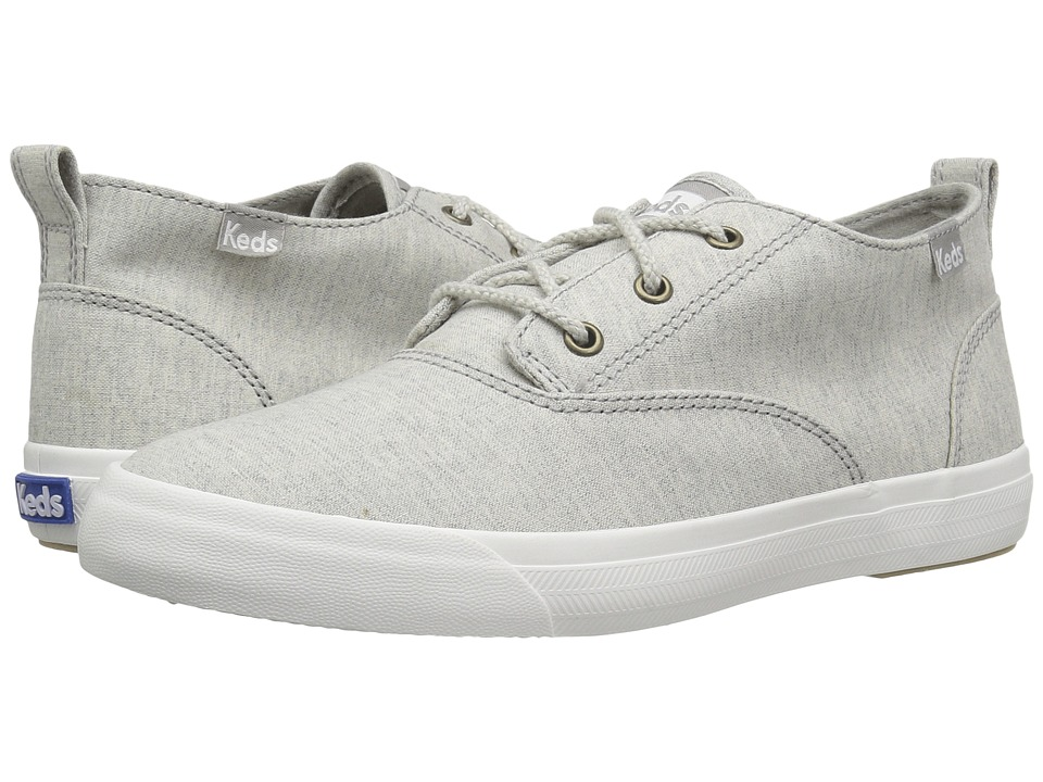 Keds Triumph Mid Heathered Canvas (Light Grey) Women