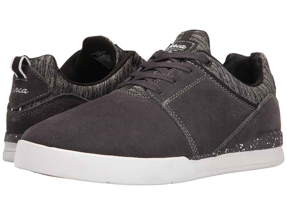 Circa - Neen (Charcoal/Gray/White) Men's Skate Shoes