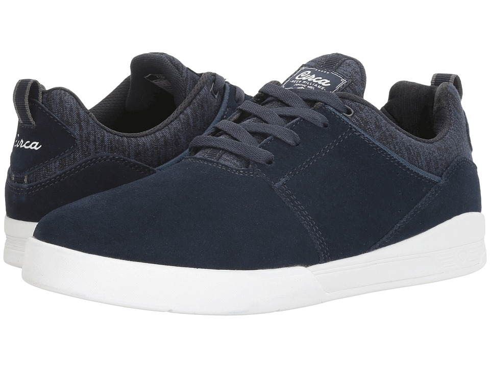 Circa - Neen (Dress Blues/White) Men's Skate Shoes