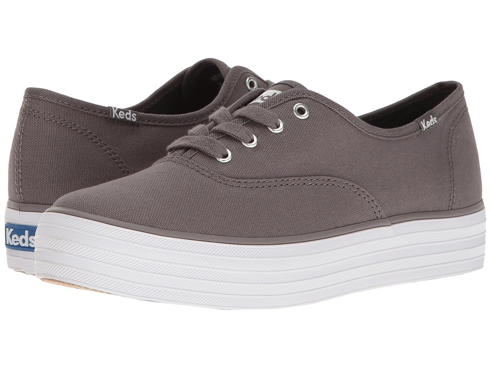 Keds - Triple Core (Graphite) Women's Lace up casual Shoes