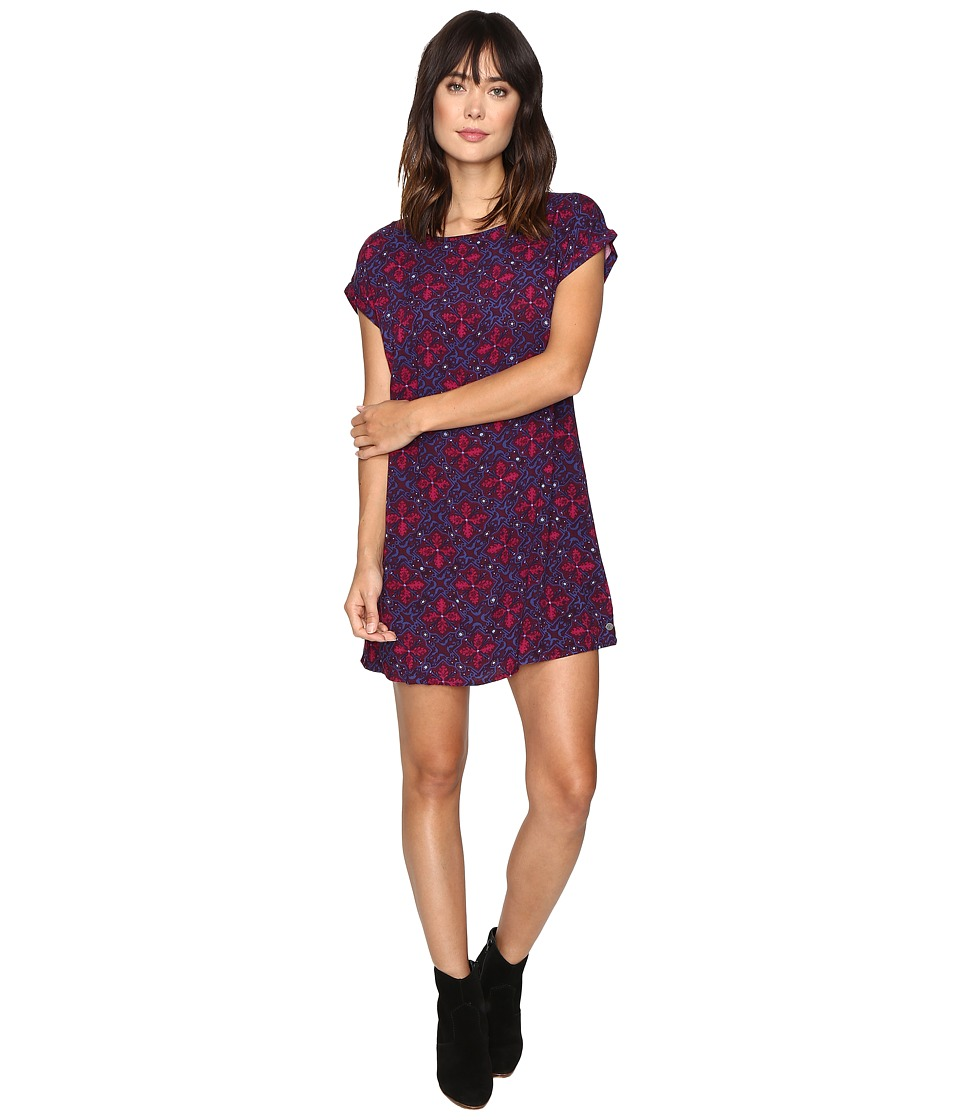 Roxy - Morris Dress (Potent Purple Fleur De Lune) Women's Dress