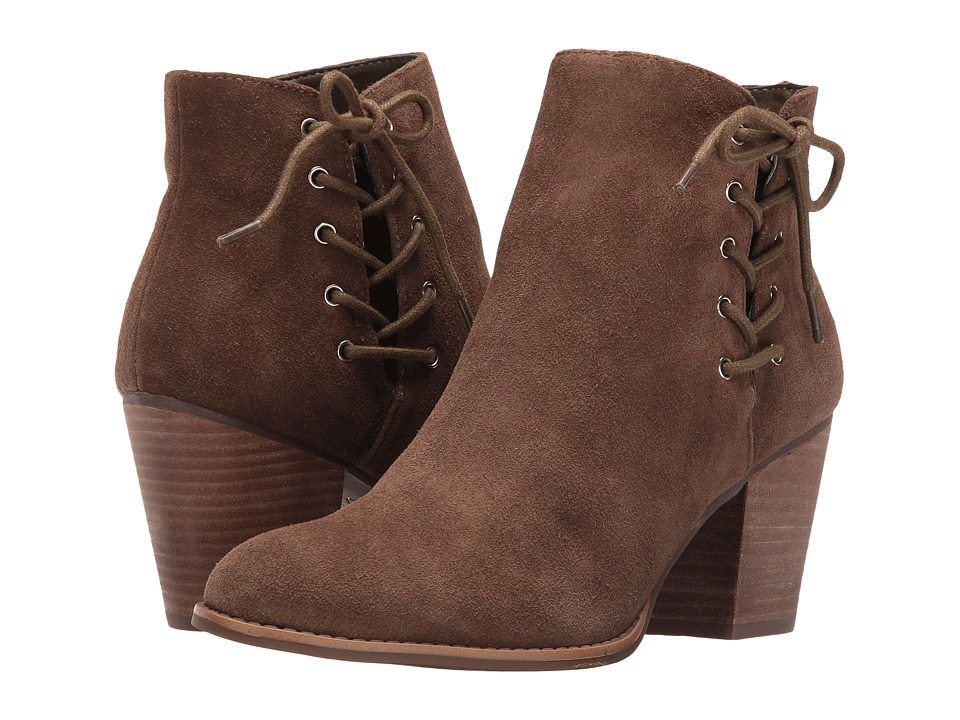 Jessica Simpson - Yesha (Moss Brown Split Suede) Women's Shoes