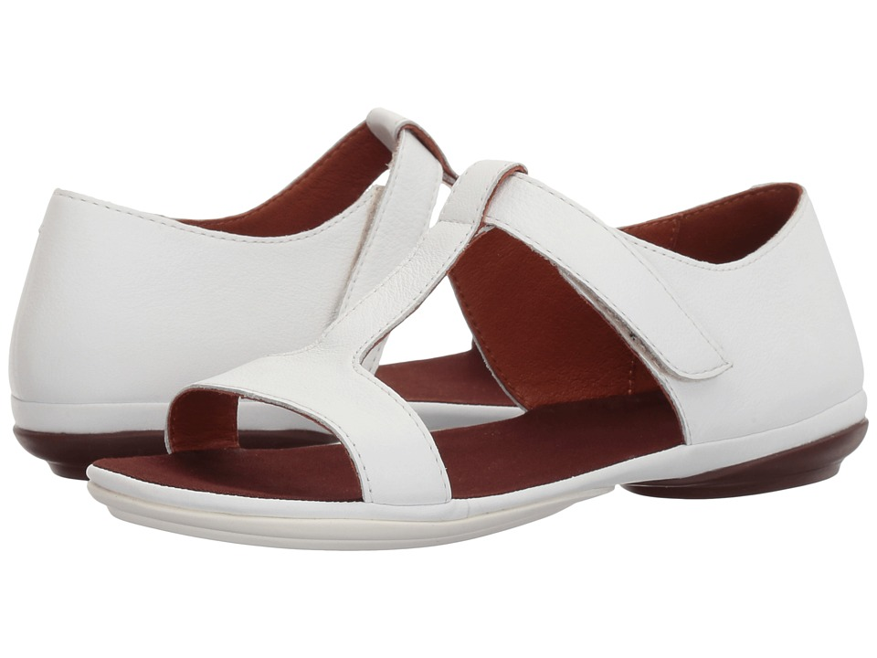 Camper - Right Nina - K200443 (White) Women's Toe Open Shoes