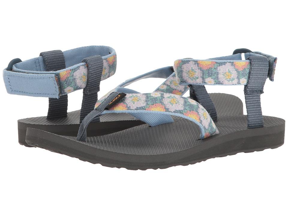 Teva Original Sandal (Malena Fade Blue) Women