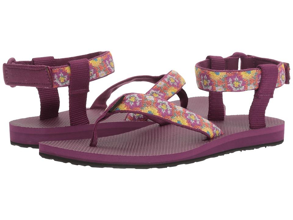 Teva - Original Sandal (Malena Fade Dark Purple Multi) Women's Sandals