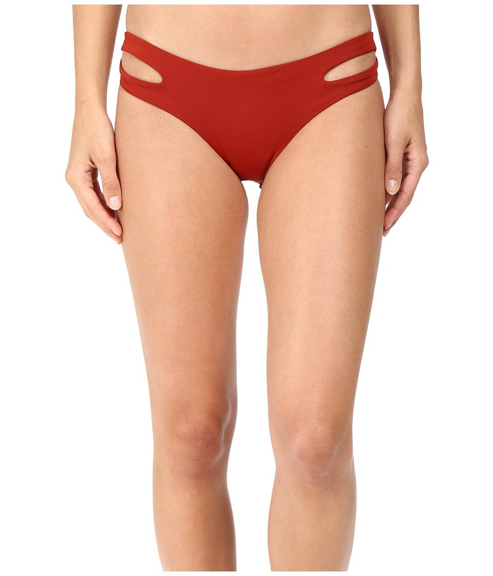L*Space - Estella Classic Bottom (Redwood) Women's Swimwear