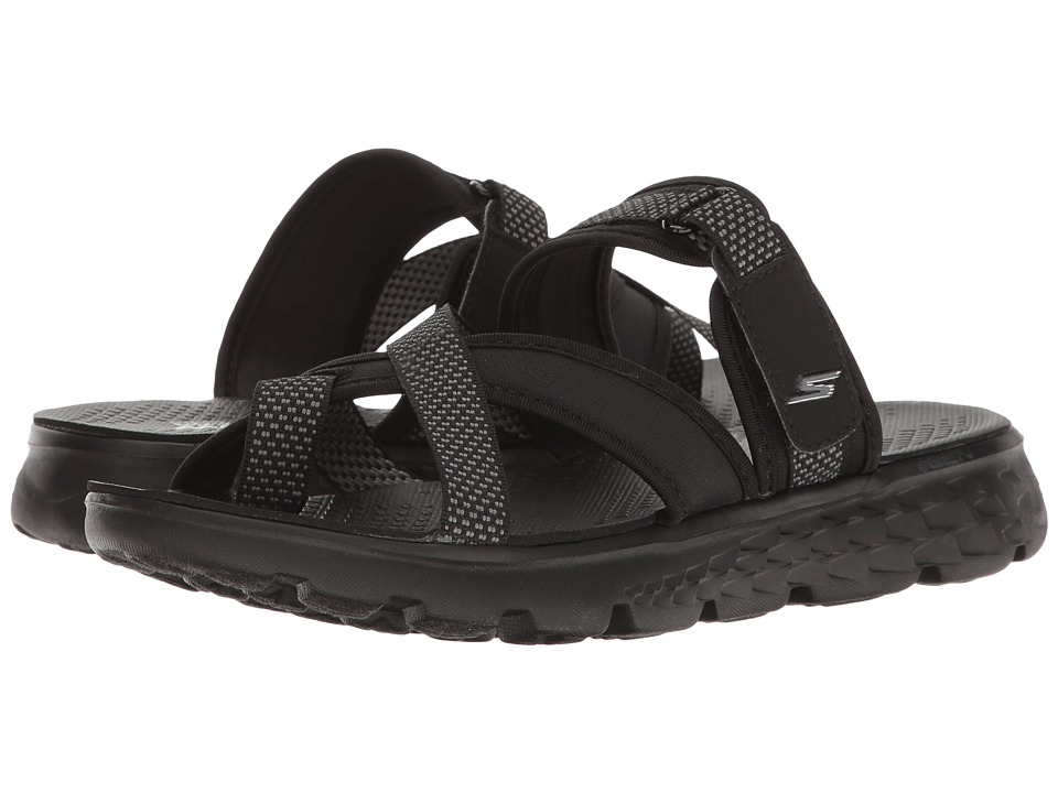 SKECHERS Performance - On-The-Go 400 - Discovery (Black/Gray) Women's Sandals