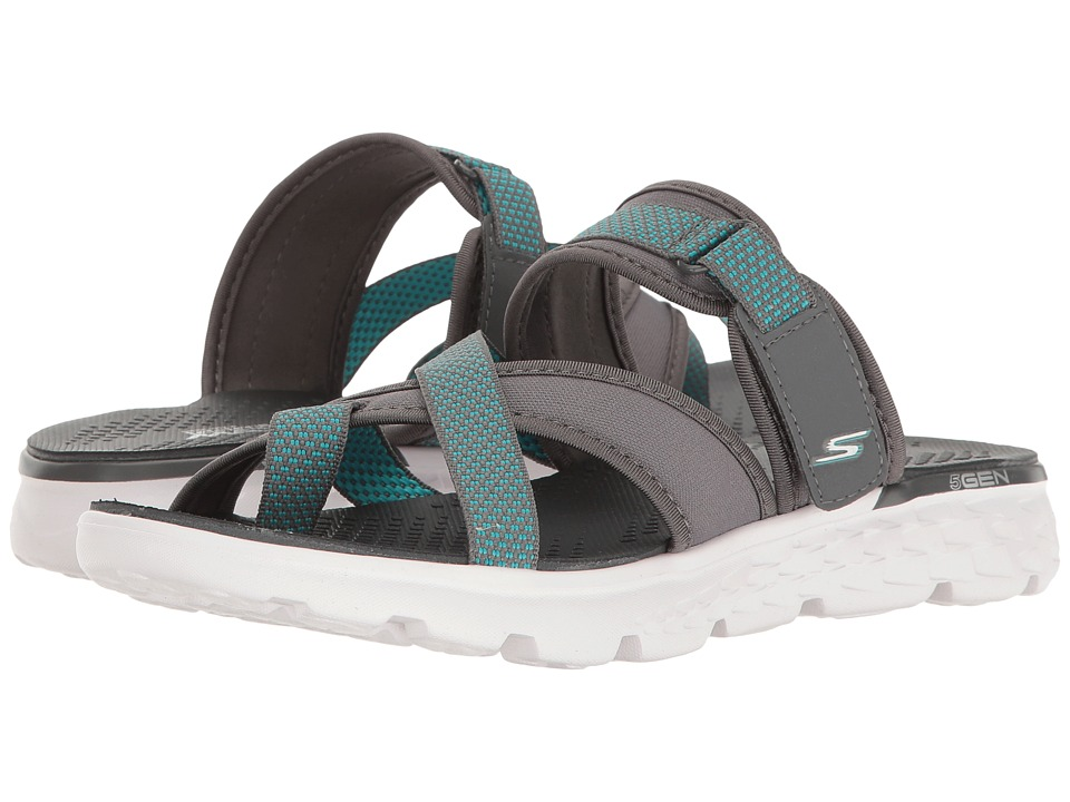 SKECHERS Performance - On-The-Go 400 - Discovery (Charcoal) Women's Sandals