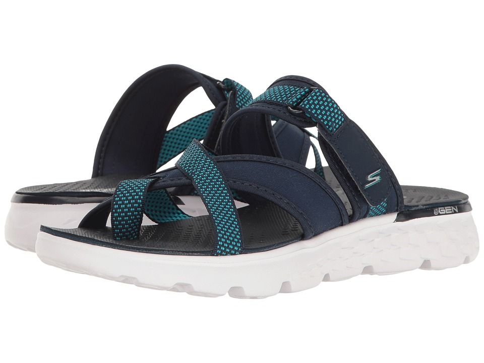 SKECHERS Performance - On-The-Go 400 - Discovery (Navy) Women's Sandals