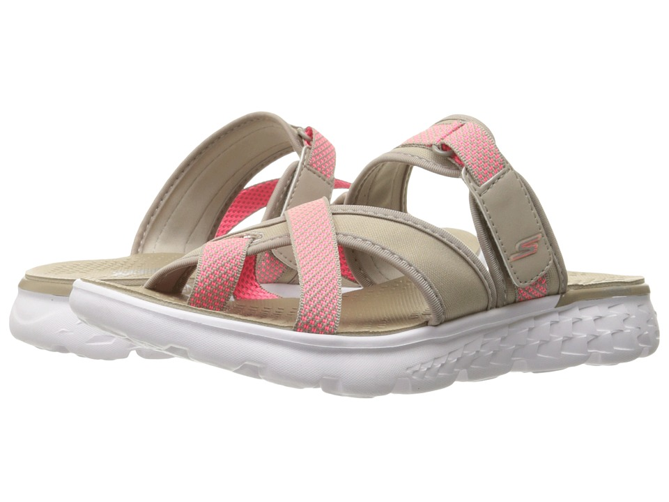 SKECHERS Performance - On-The-Go 400 - Discovery (Taupe) Women's Sandals
