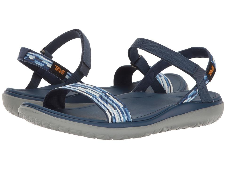Teva - Terra-Float Nova (Tacion Blue Multi) Women's Shoes