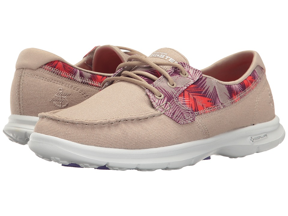 SKECHERS Performance Go Step Cabana (Taupe) Women