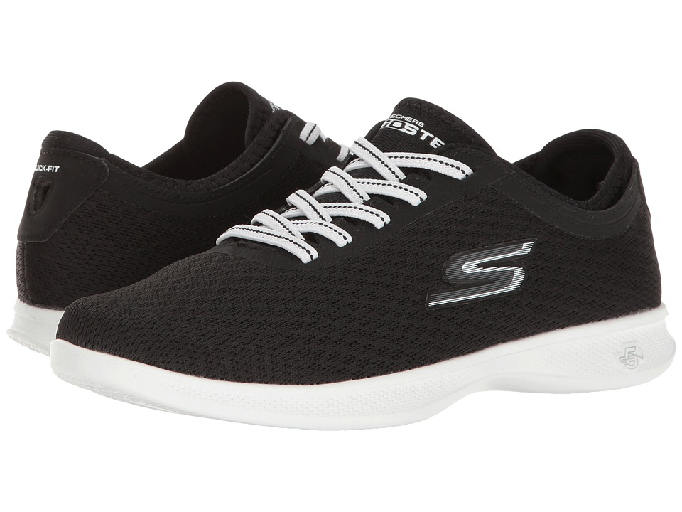 SKECHERS Performance Go Step Lite Temptation (Black/White) Women