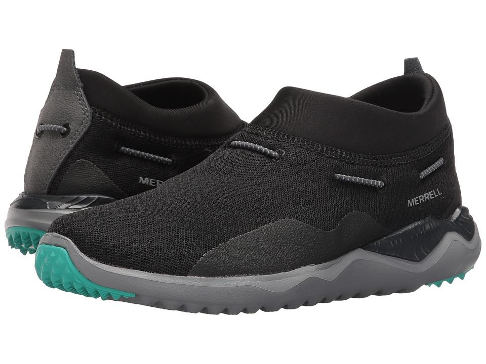 Merrell - Isix8 Mesh Moc (Black) Women's Shoes