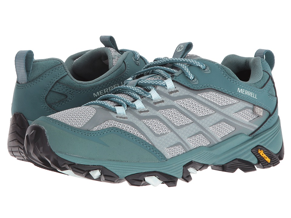 Merrell - Moab FST Waterproof (Sea Pine) Women's Lace up casual Shoes