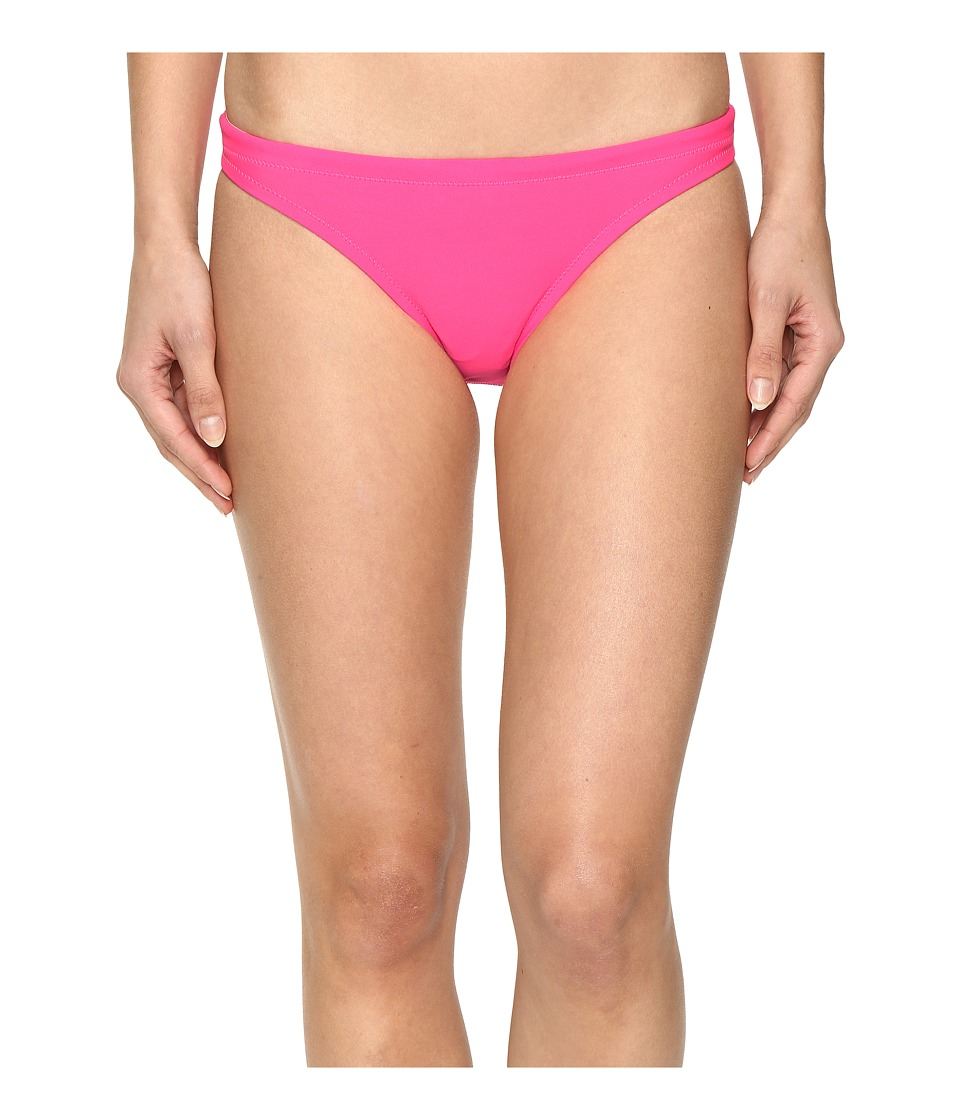 Speedo - Solid Hipster Bottom (Electric Pink) Women's Swimwear