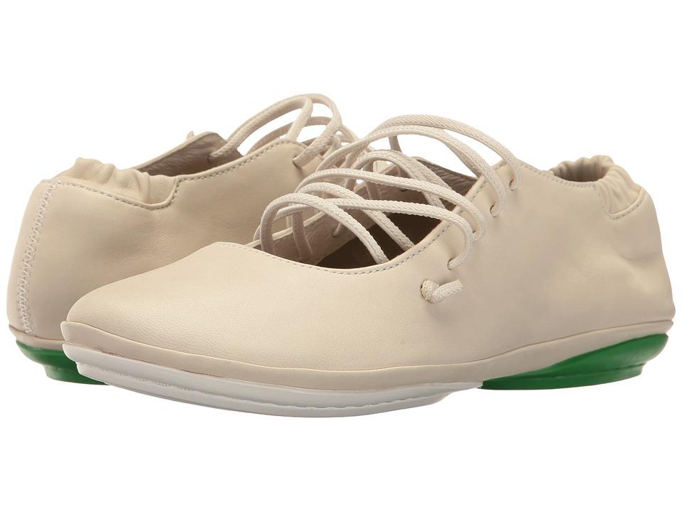 Camper - Right Nina - K200440 (Light Beige) Women's Slip on Shoes