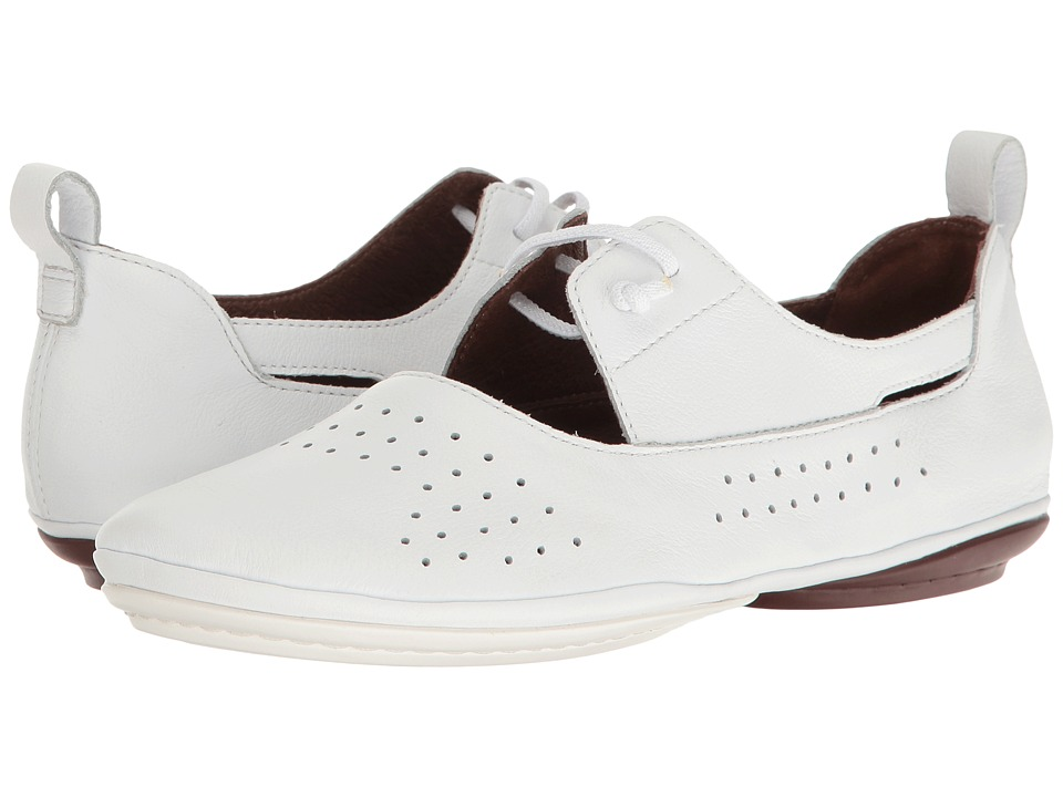 Camper - Right Nina - K200441 (White) Women's Slip on Shoes