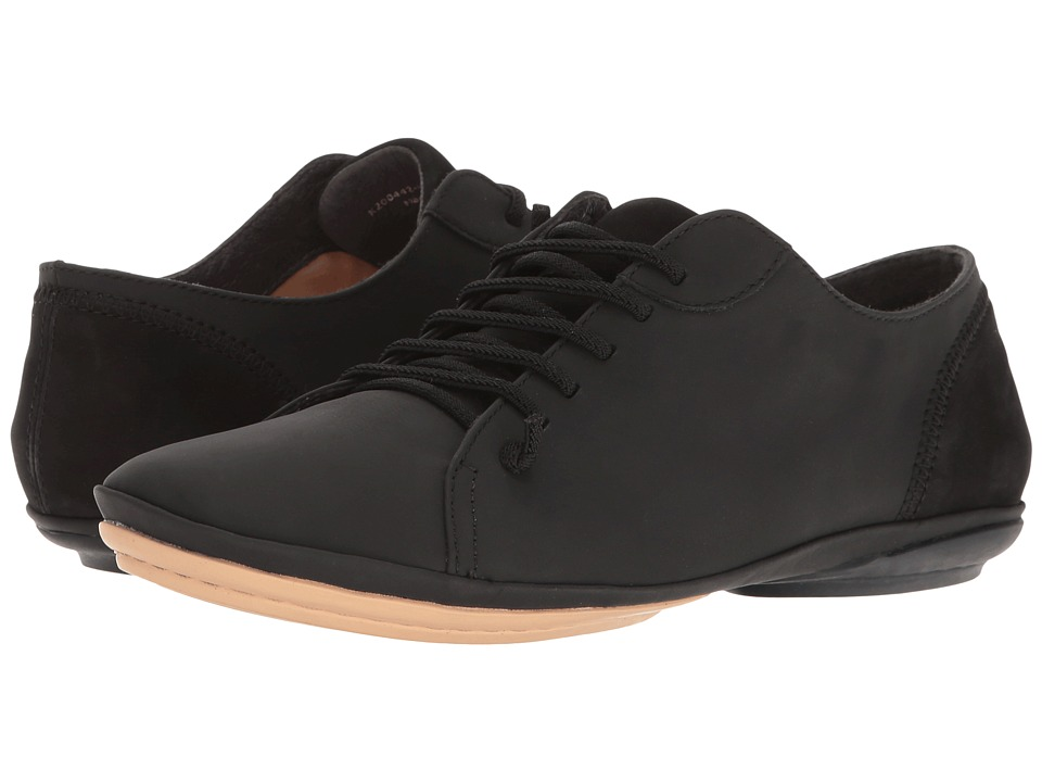 Camper - Right Nina - K200442 (Black) Women's Lace up casual Shoes