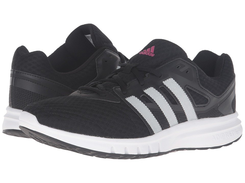 adidas - Galaxy 2 (Black/White/Pink) Women's Shoes