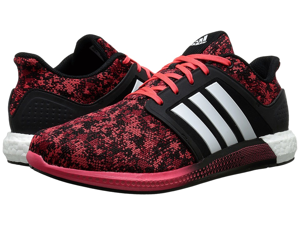 adidas - Solar Runner (Black/White/Shock Red) Men's Shoes