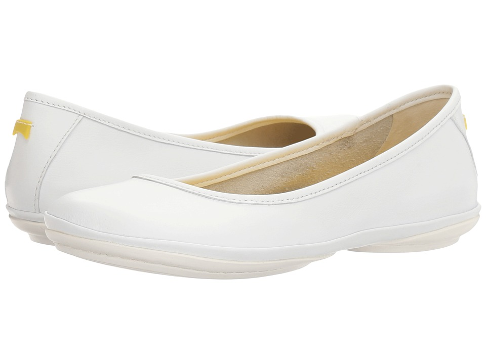 Camper - Right Nina - K200387 (White) Women's Slip on Shoes