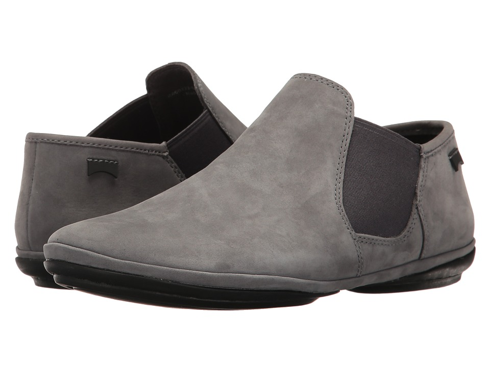 Camper - Right Nina - K400123 (Medium Grey) Women's Slip on Shoes