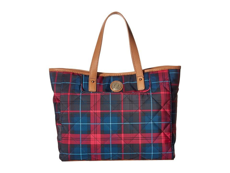 Tommy Hilfiger - TH Pocket Shopper w/ Coin Purse (Pink/Multi) Handbags
