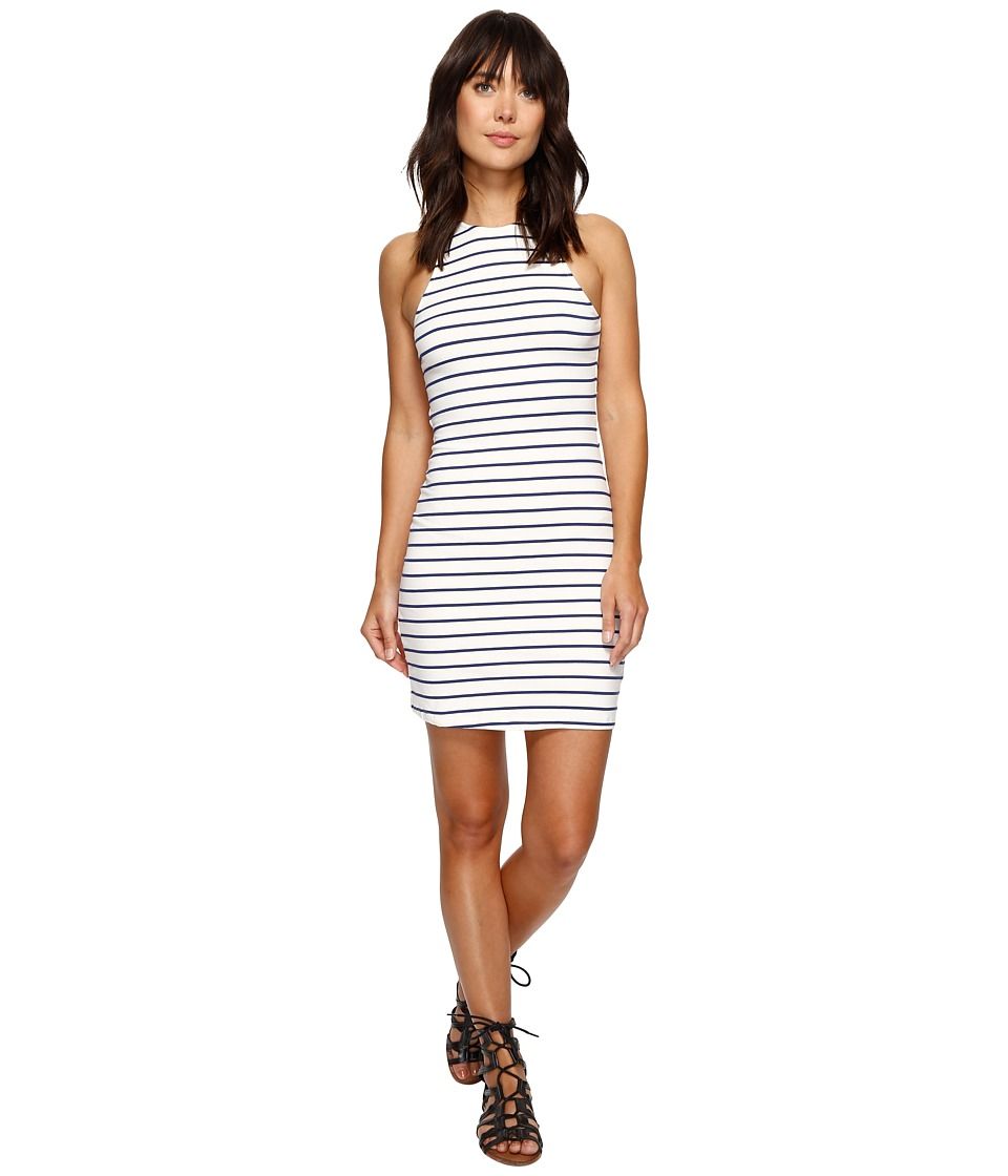 Roxy - Ano Nuevo 2 Dress (Marshmallow Signature) Women's Dress