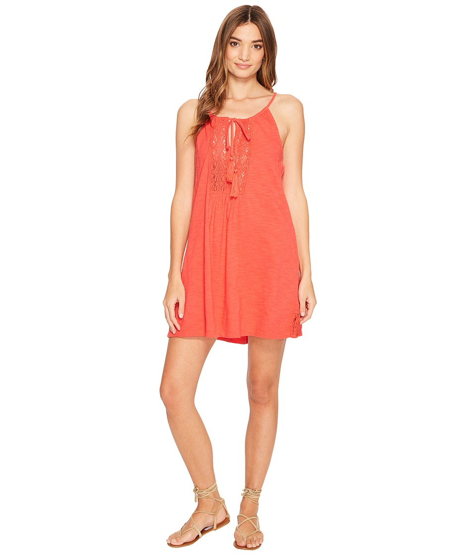 Roxy - Black Water Dress (Hibiscus) Women's Dress