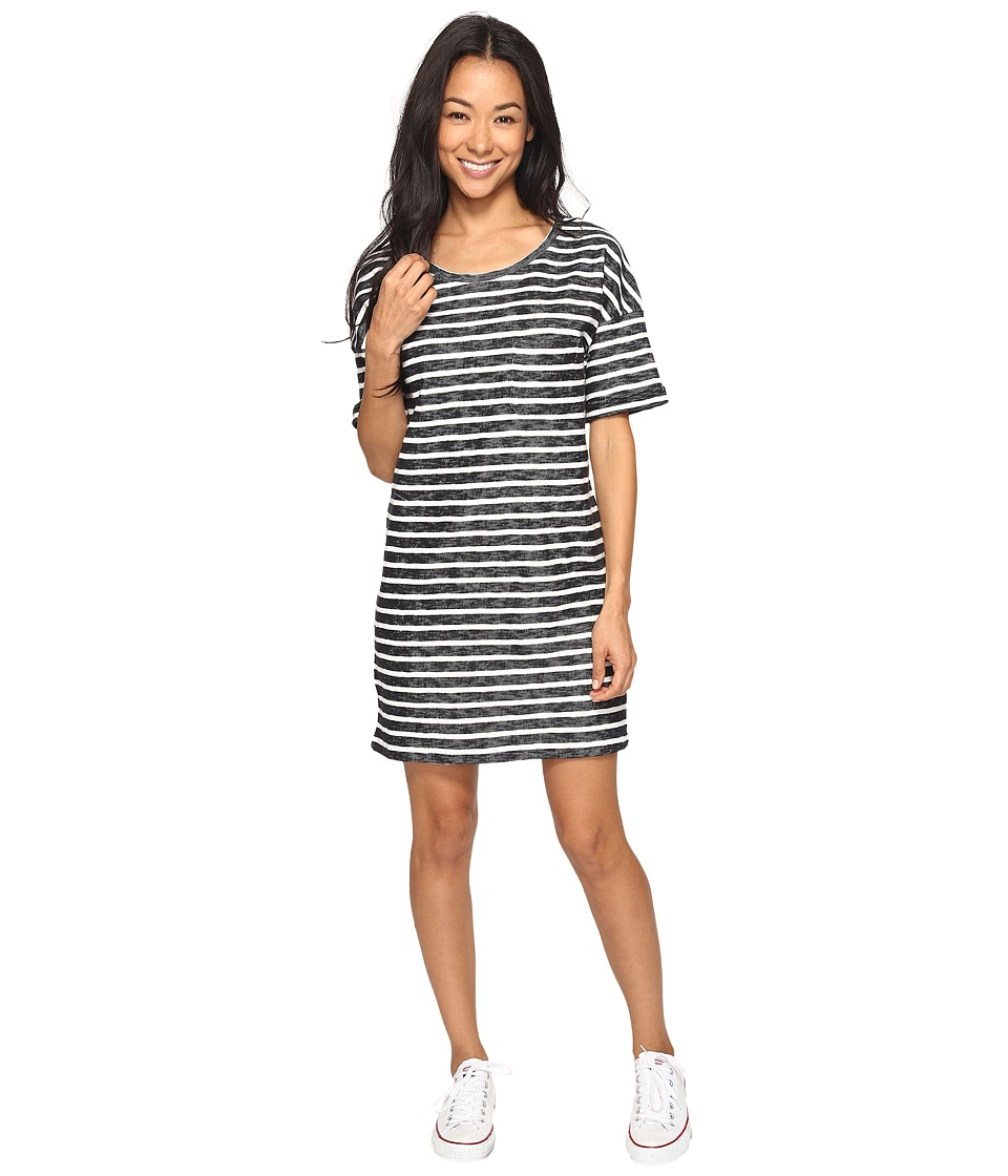 Roxy - Get Together T-Shirt Dress (Anthracite Friday Stripe) Women's Dress