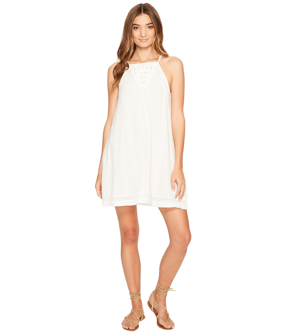 Roxy - Wooden Ships Dress (Marshmallow) Women's Dress