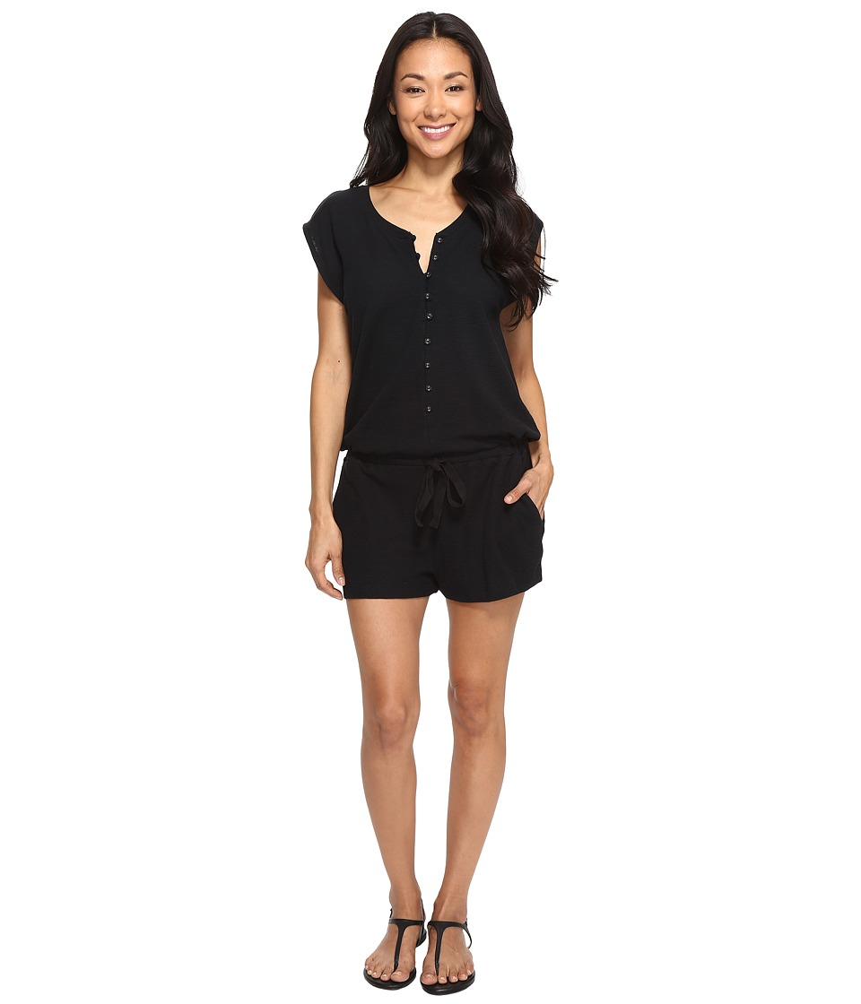 Roxy - Always On My Mind Romper (Anthracite) Women's Jumpsuit & Rompers One Piece