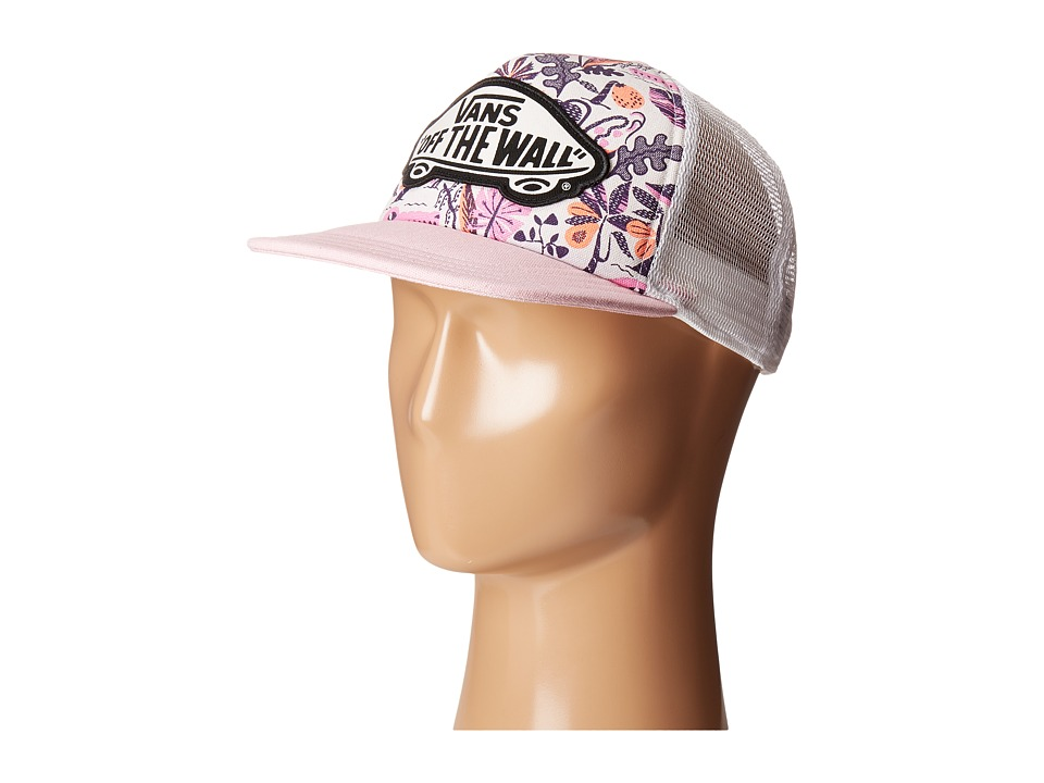Vans - Beach Girl Trucker Hat (Floral Jacquard) Caps