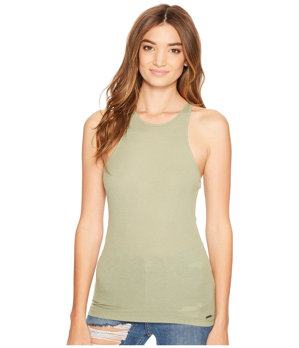 Roxy - T Bundoran Tank Top (Oil Green) Women's Sleeveless