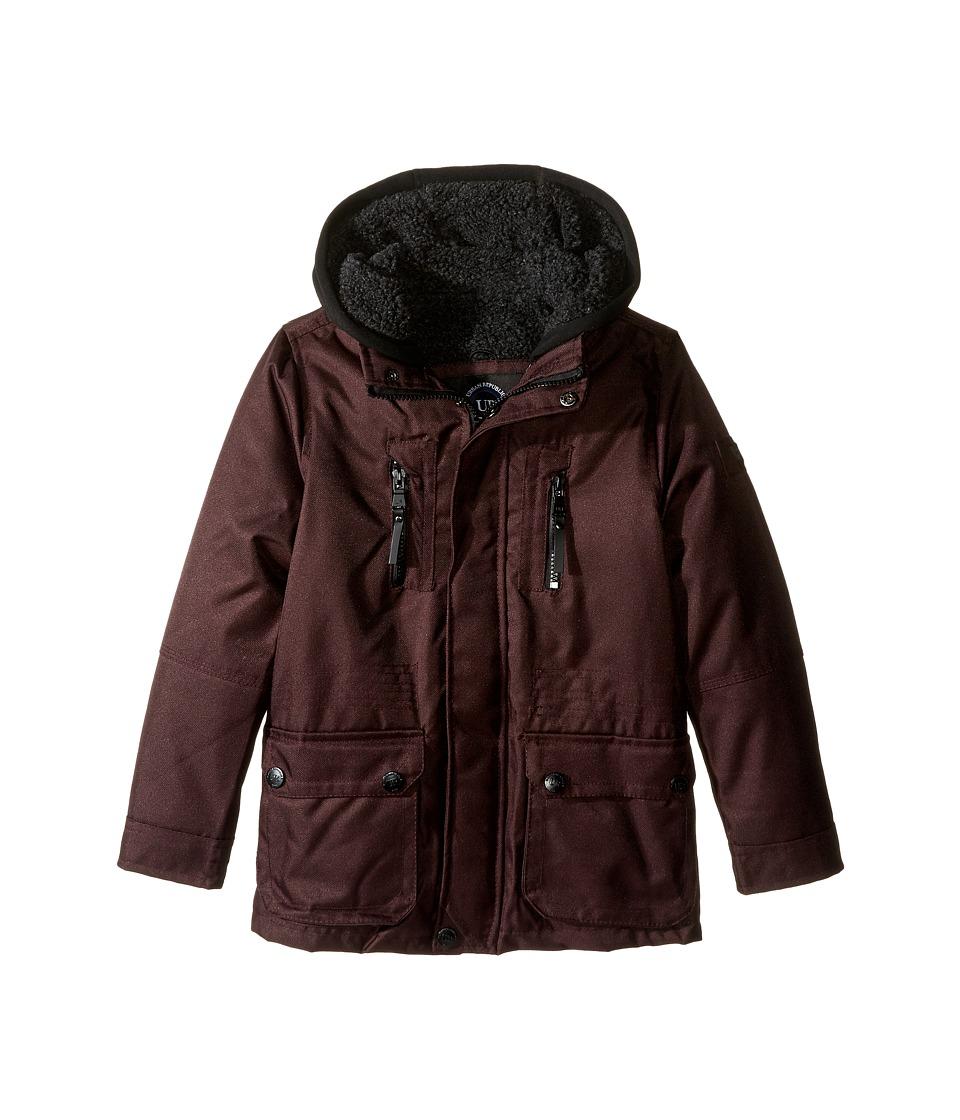 Urban Republic Kids - Sherpa Lined Ballistic Coat (Little Kids) (Fig) Boy's Coat