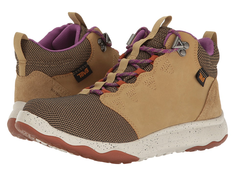 Teva - Arrowood Mid WP (Prairie Sand) Women's Shoes