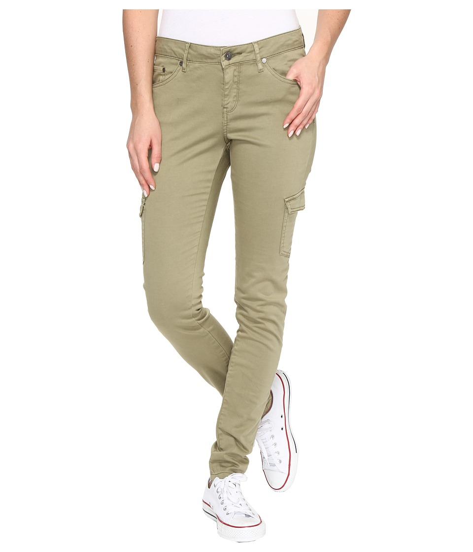 Roxy - Cargo City Cargo Pant (Oil Green) Women's Clothing