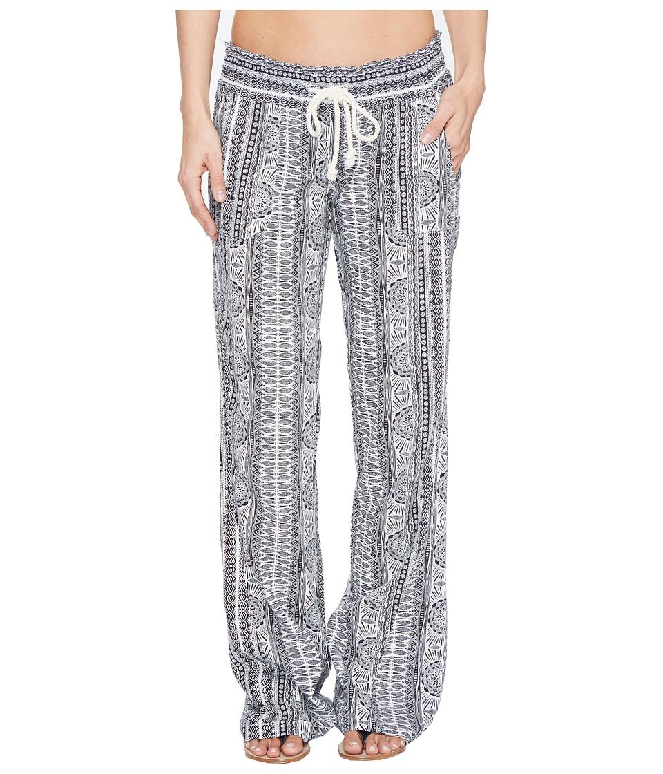 Roxy - Oceanside Printed Beach Pant (Marshmallow Sun Pyramid) Women