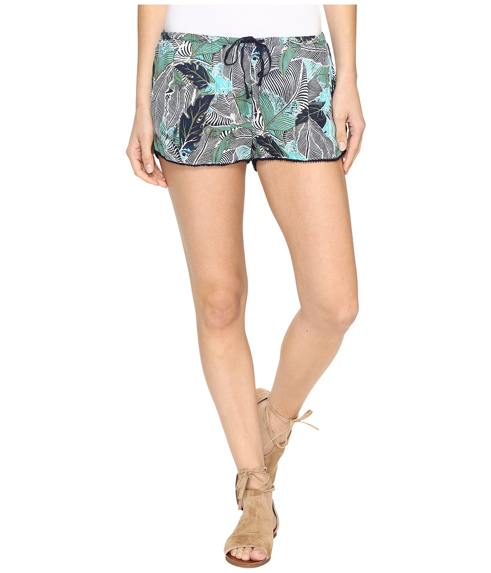Roxy - Mystic Topaz Printed Short (Blue Depths Ready Made) Women's Shorts