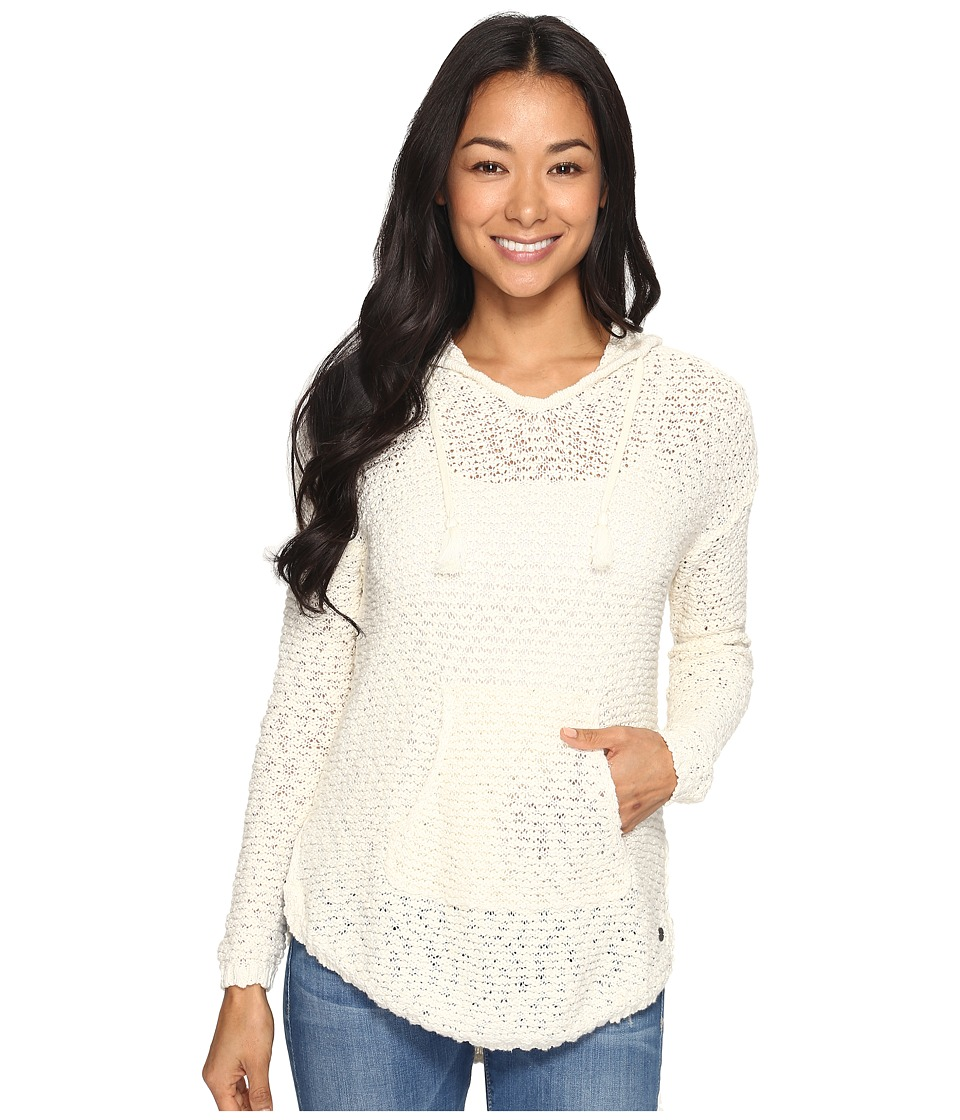 Roxy - Smoke Signal Sweater (Marshmallow) Women's Clothing